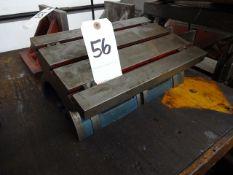 15 X 10 TILTING T-SLOT TABLE