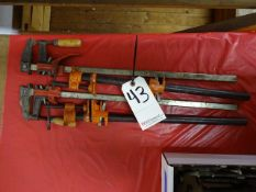 LOT ASSORTED CLAMPS