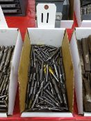 LOT ASSORTED CARBIDE END MILLS