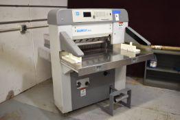2005 BAUM 26 IN. TYPE BAUMCUT 26.4 MODEL 66 PROGRAMMABLE PAPER CUTTER: S/N 75D1175, 220V.