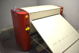 2011 AGFA AZURA C95 PLATE PROCESSOR: S/N AC12669D, 60 HZ, 6 AMPS, 10 KA, 1350 WATTS