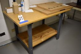 WORK BENCH (NO CONTENTS)