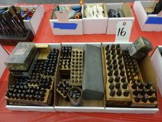 LOT: ASSORTED LETTER & NUMBER PUNCHES