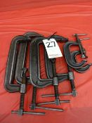 LOT: (2) WILLIAMS & (2) ARMSTRONG CLAMPS