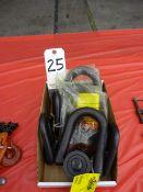 LOT: ASSORTED AMERICAN DRILL BUSHING, HOIST RINGS