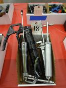 LOT: ASSORTED GREASE GUNS