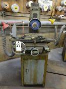 BOYAR SHULTZ 6 X 12 MODEL 612 HAND FEED SURFACE GRINDER, S/N 19160, 3/4 HP, 3450 RPM