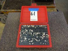 ZHANGDA M1 MINUS .061-.250 PIN GAGE SET