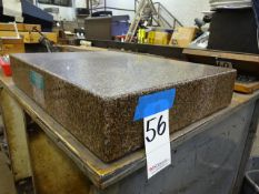 ASTRAL 24 X 18 X 4-1/4 GRANITE SURFACE PLATE, SN 6753