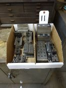 LOT: ASSORTED V-BLOCKS & MAGNETIC BLOCKS IN (2) BOXES