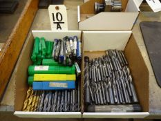 LOT: (2) BOXES ASSORTED CARBIDE MILLS