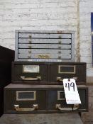 LOT: (3) CABINETS WITH ASSORTED TOOLING