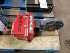 QUARTER MASTER CHIEF ACTUATOR WITH VALVE FOR FIRE SYSTEM