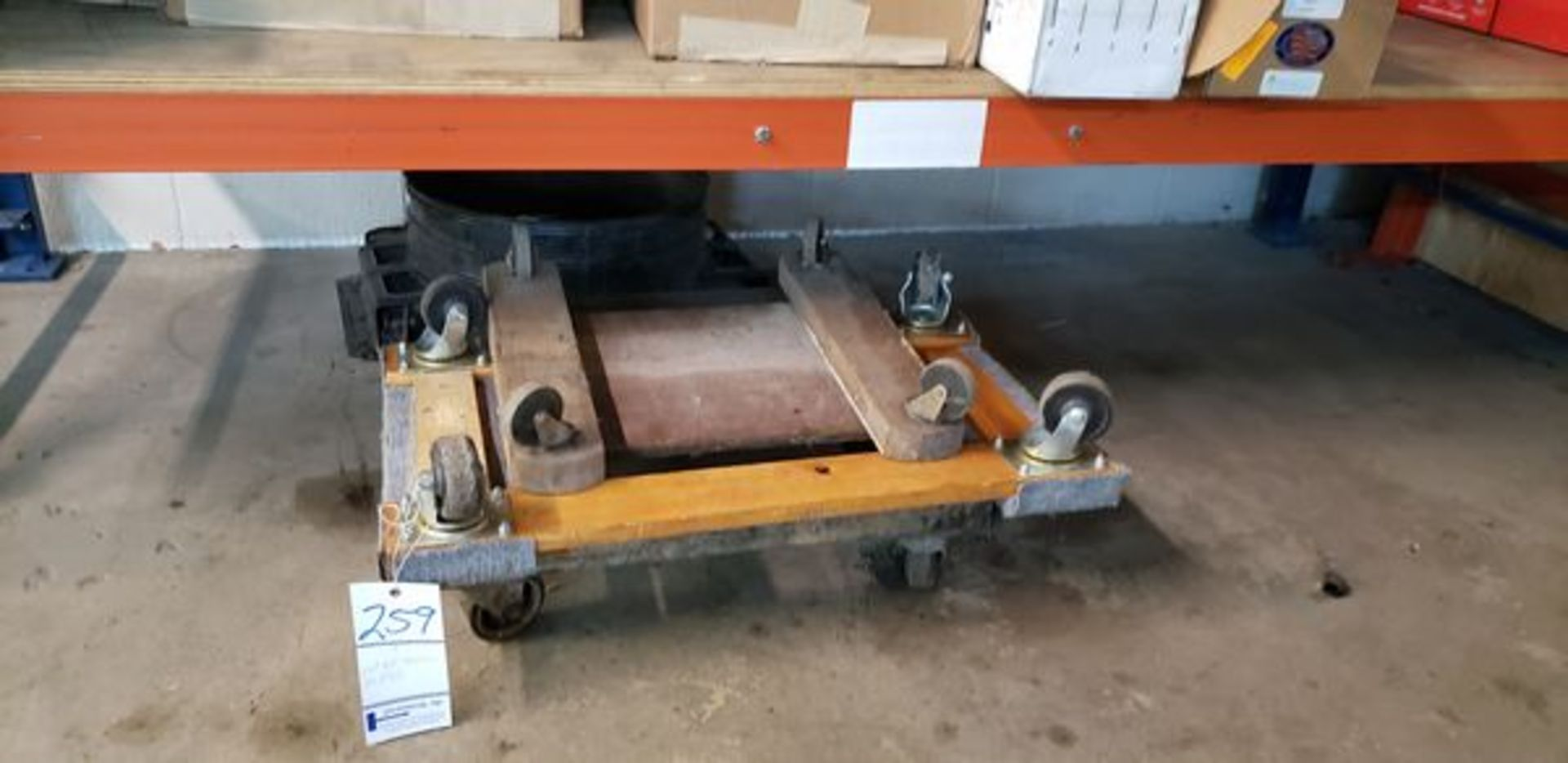 LOT OF 4 WHEEL DOLLIES - Image 2 of 2