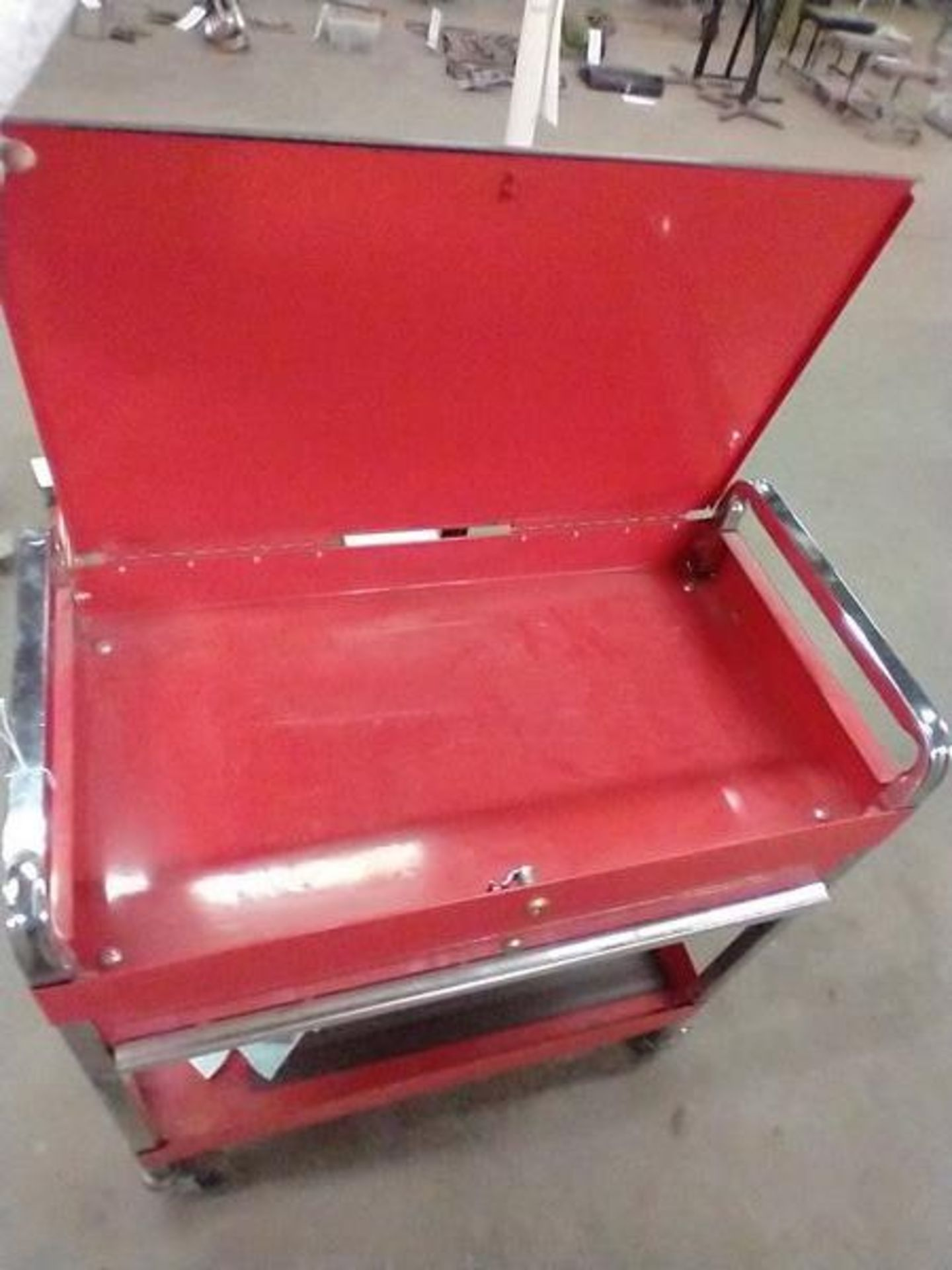TOOL CART WITH KEY - Image 2 of 3