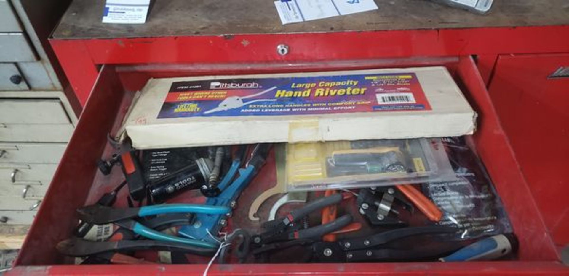 ASSORTED TOOLS IN DRAWER