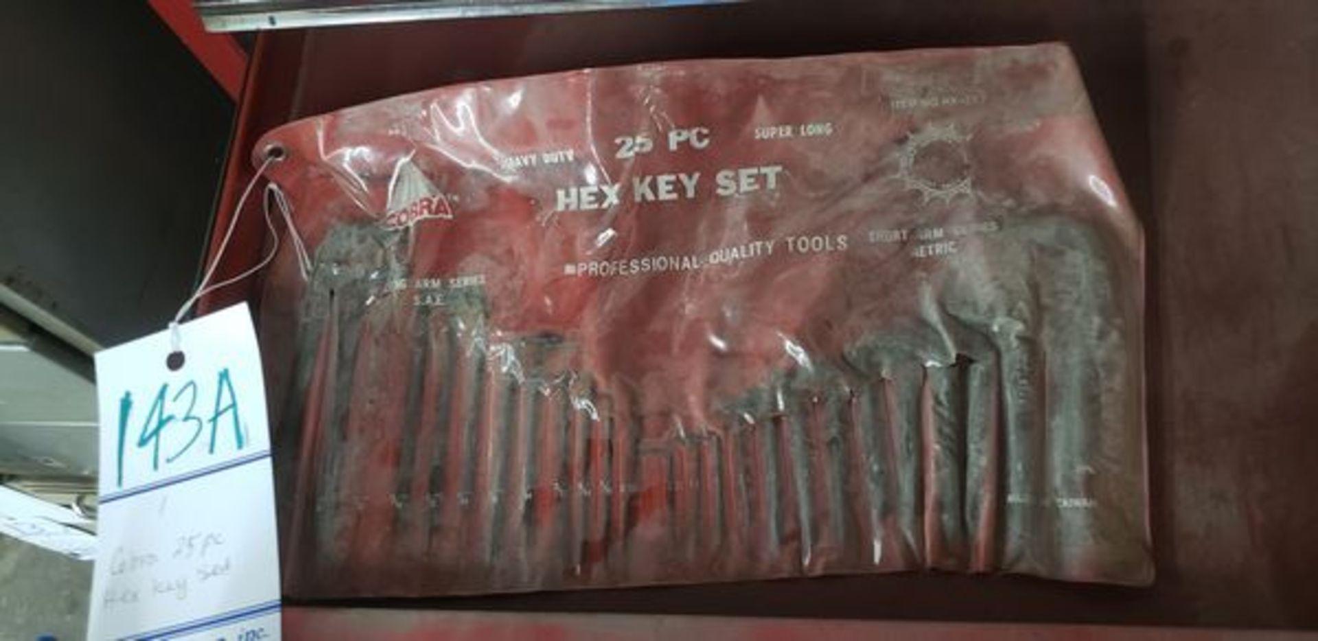 COBRA 25PC HEX KEY SET