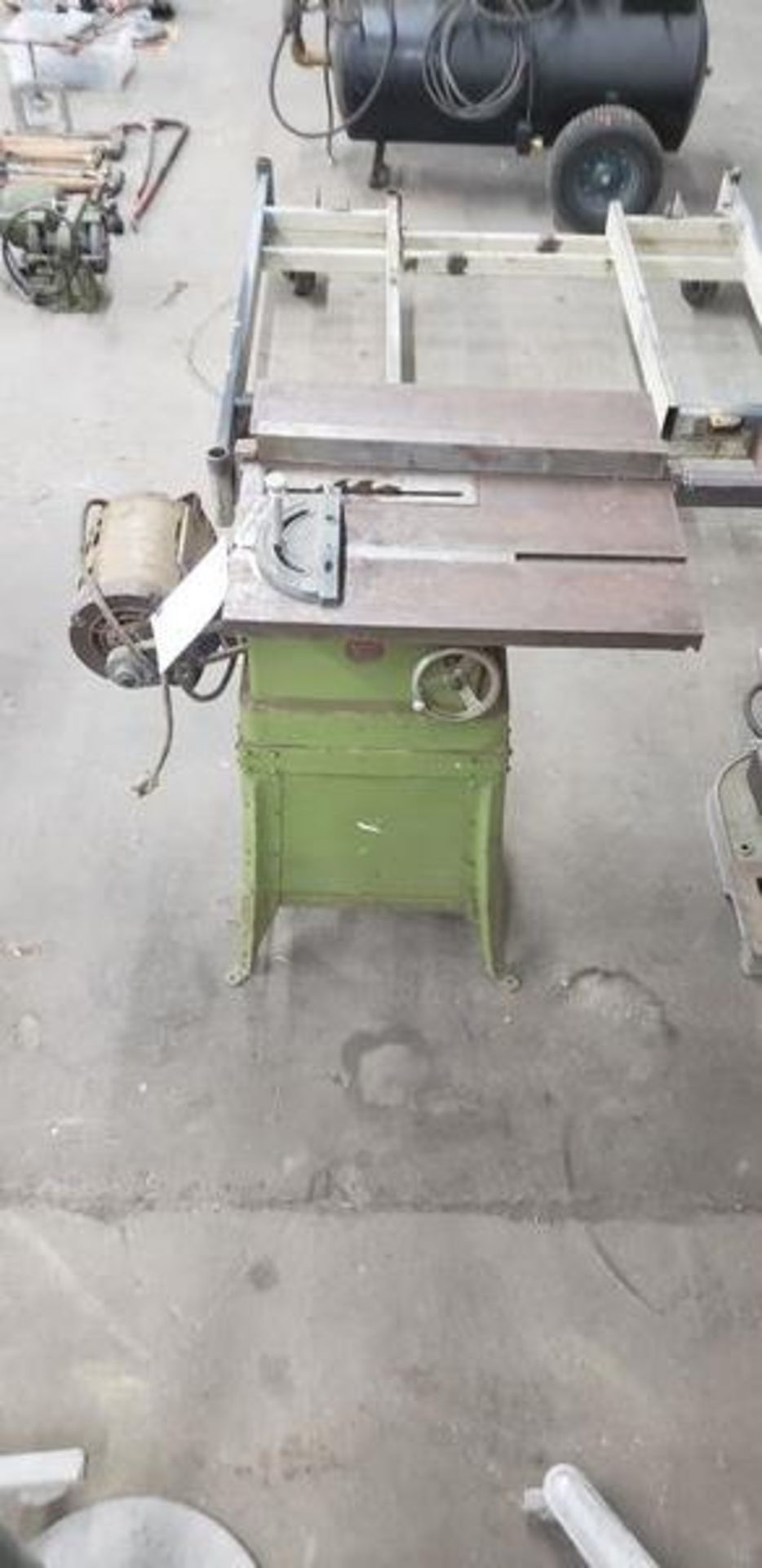 POWER KING TABLE SAW WITH BASE - Image 2 of 5