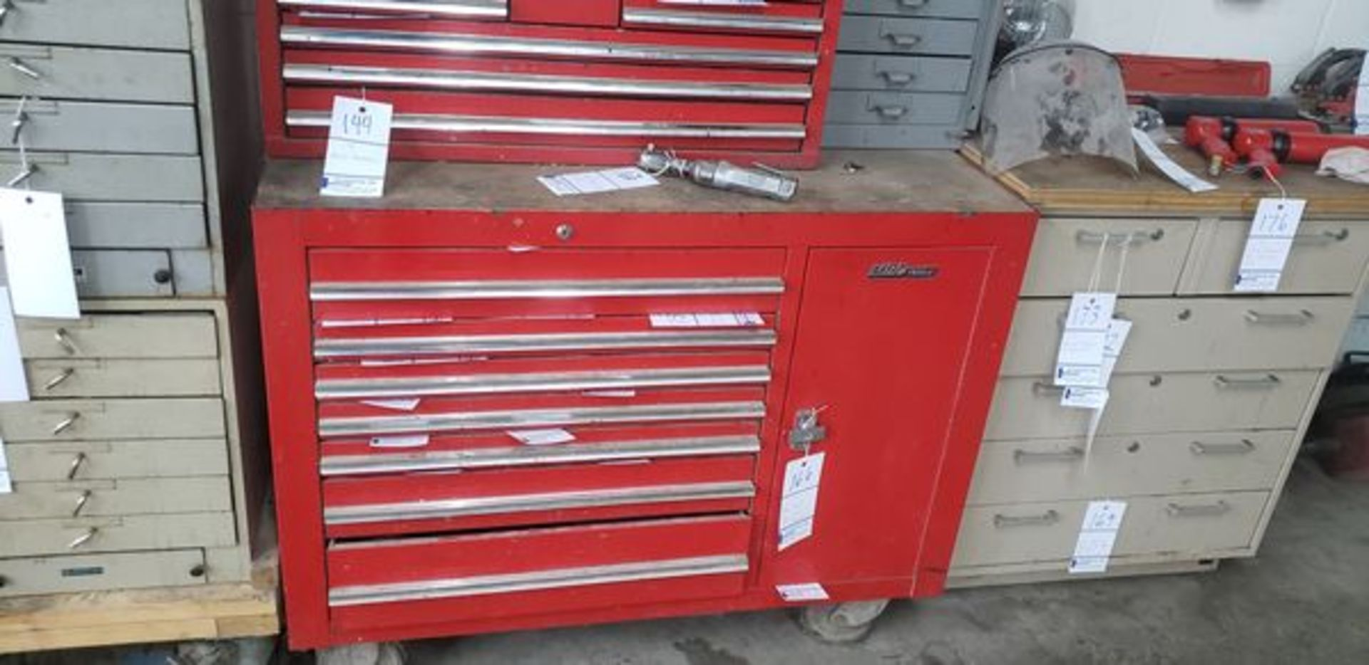 """MAC TOOLS TOOL CHEST ON CASTERS 45"""" X 24"""" X 36"""" - Image 2 of 2"""