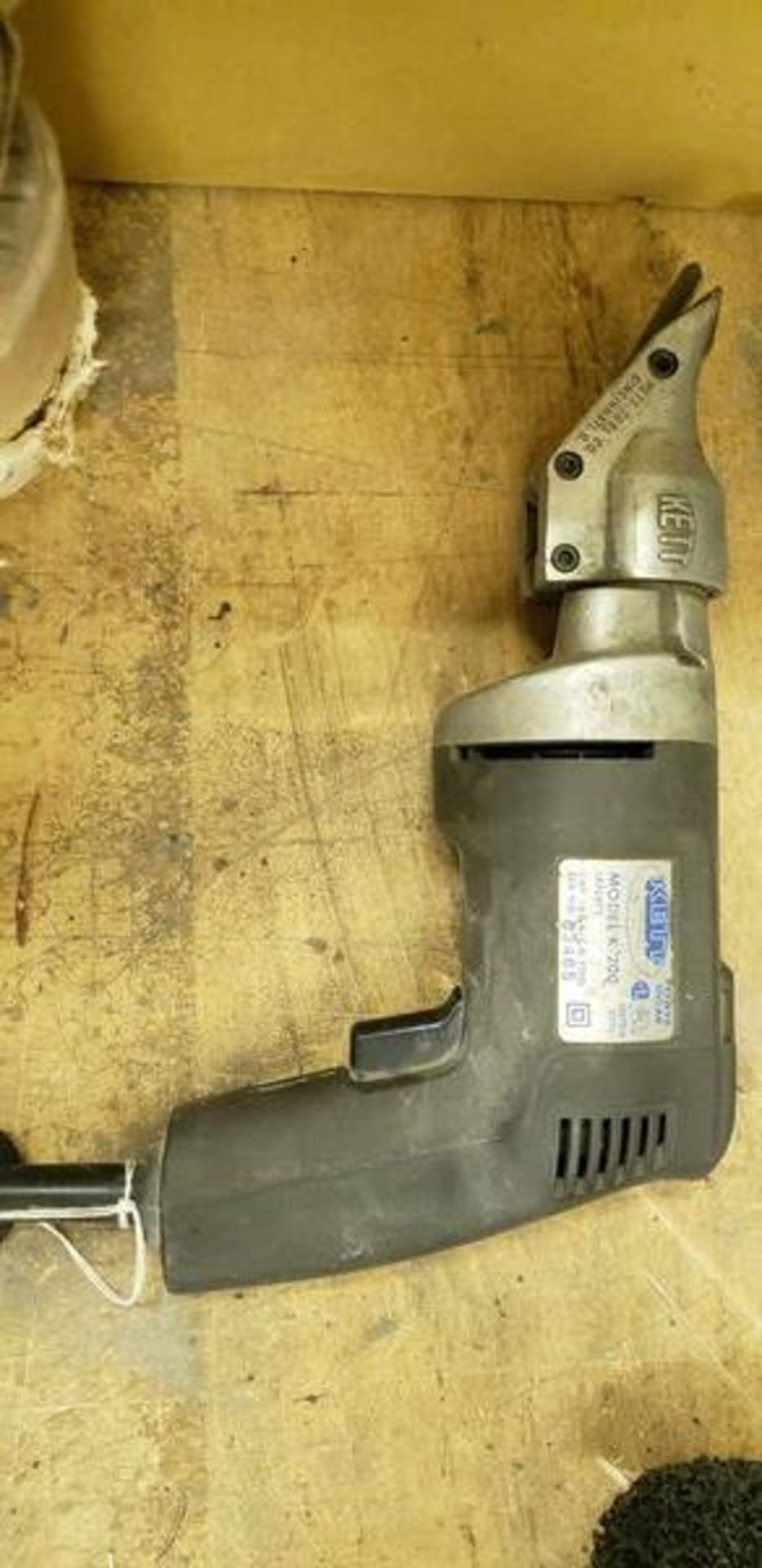 KETT POWER SHEAR MODEL K-200 - Image 2 of 3