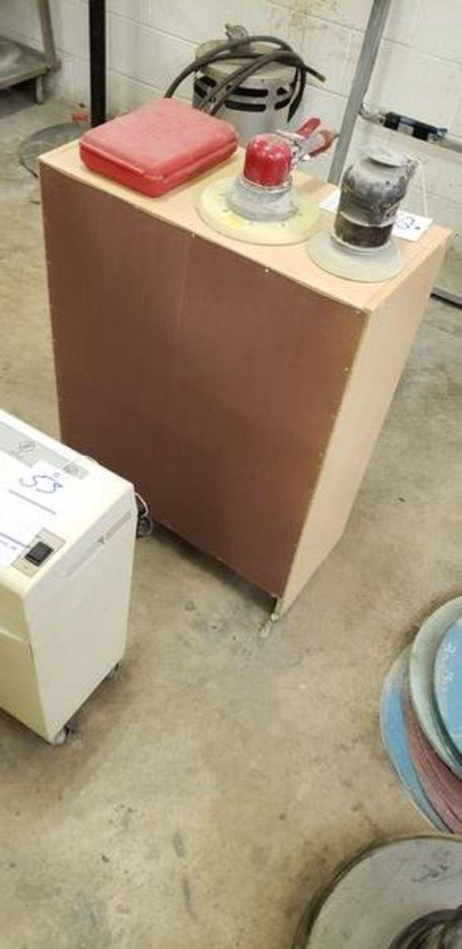"""WOODEN 2 DOOR CABINET 2' X 1' X 32"""" - Image 2 of 3"""