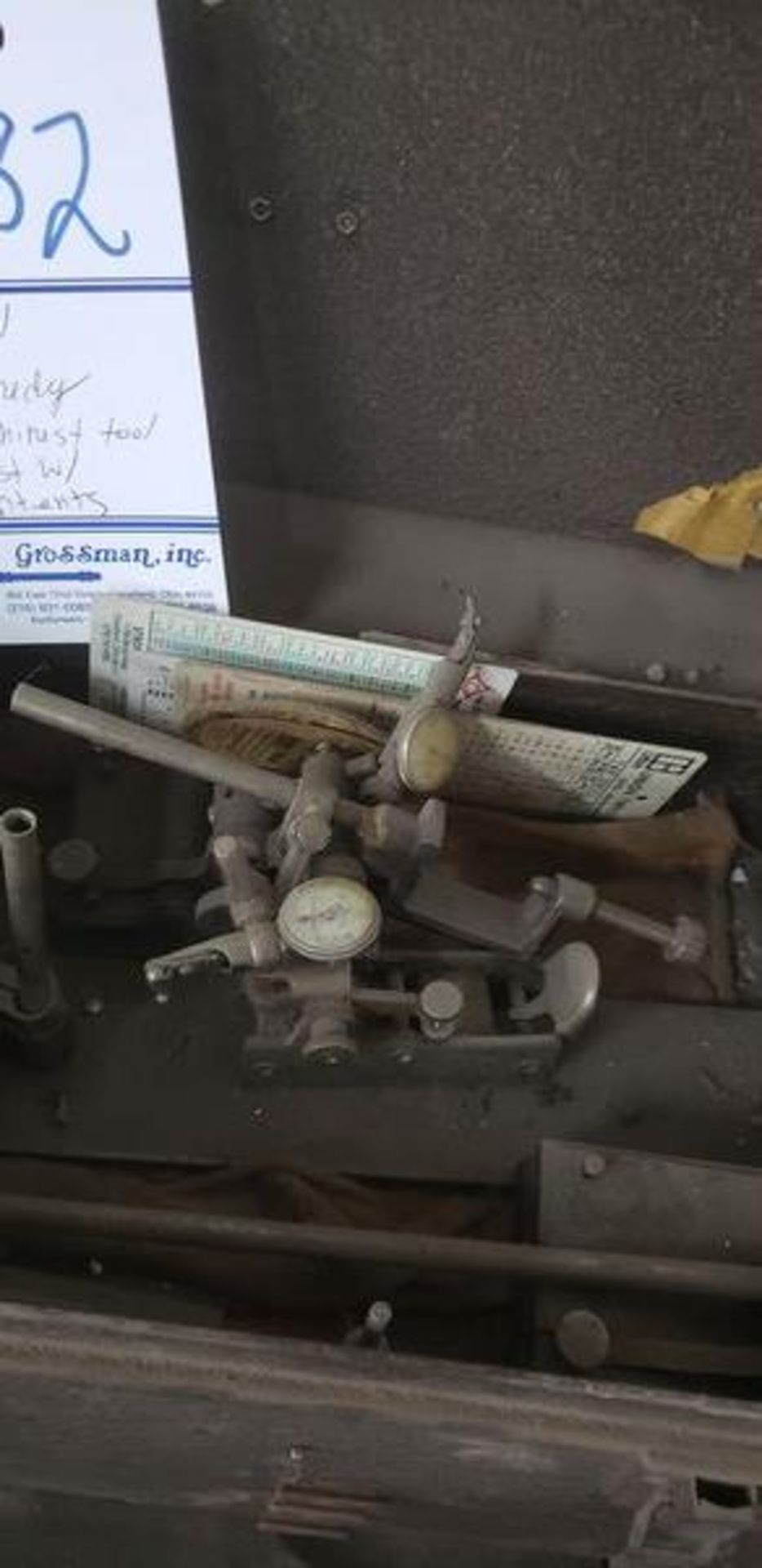 KENNEDY MACHINIST TOOL CHEST WITH CONTENTS - Image 3 of 11