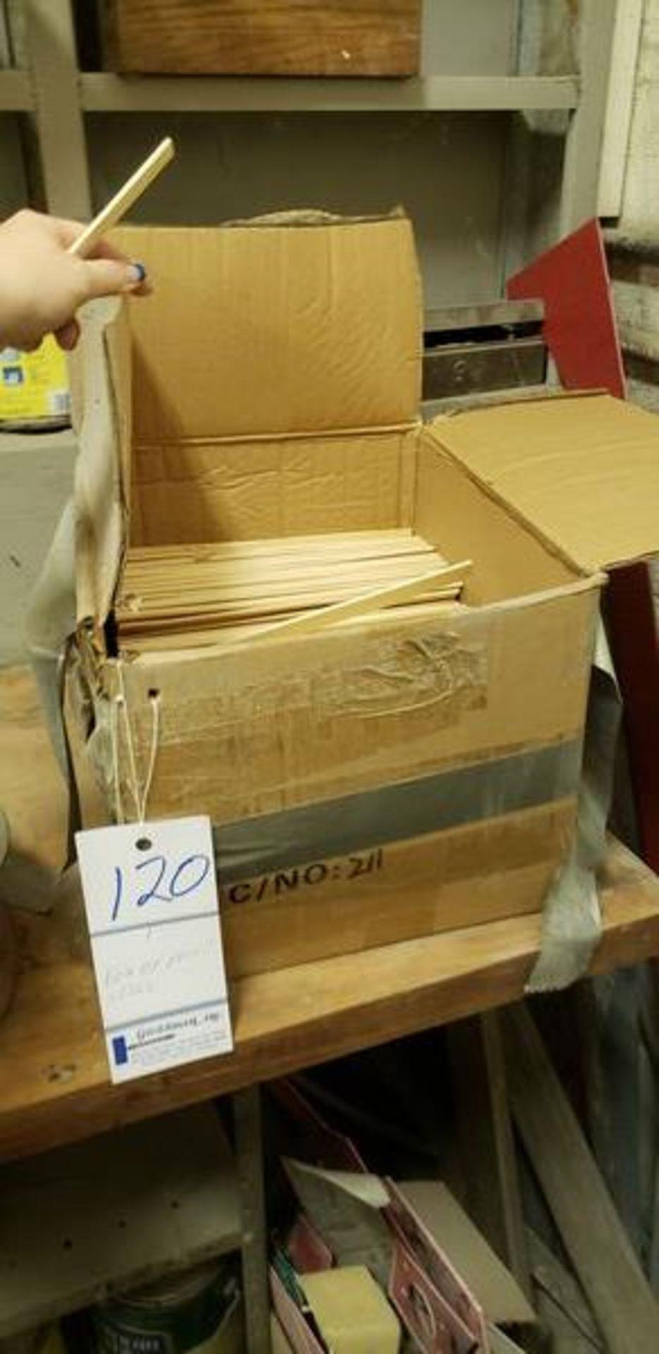 BOX OF PAINT STIRS