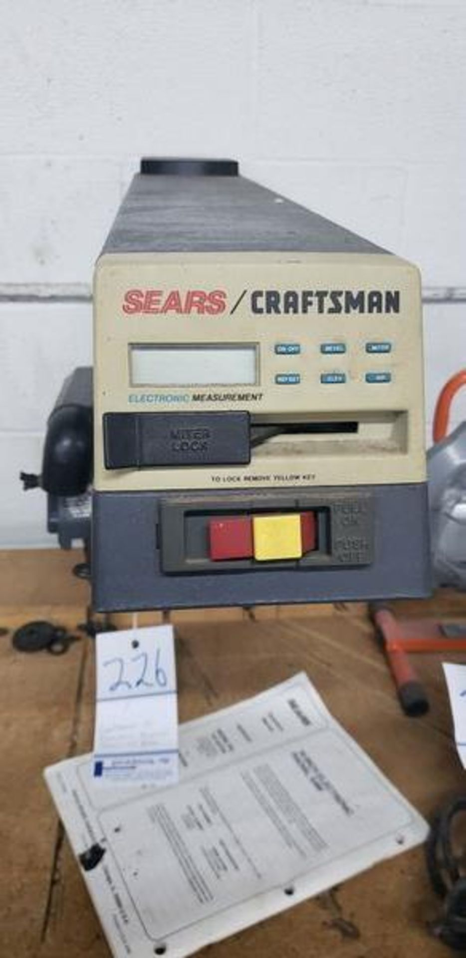 """CRAFTSMAN 10"""" ELECTRIC RADIAL SAW WITH BASE - Image 3 of 3"""