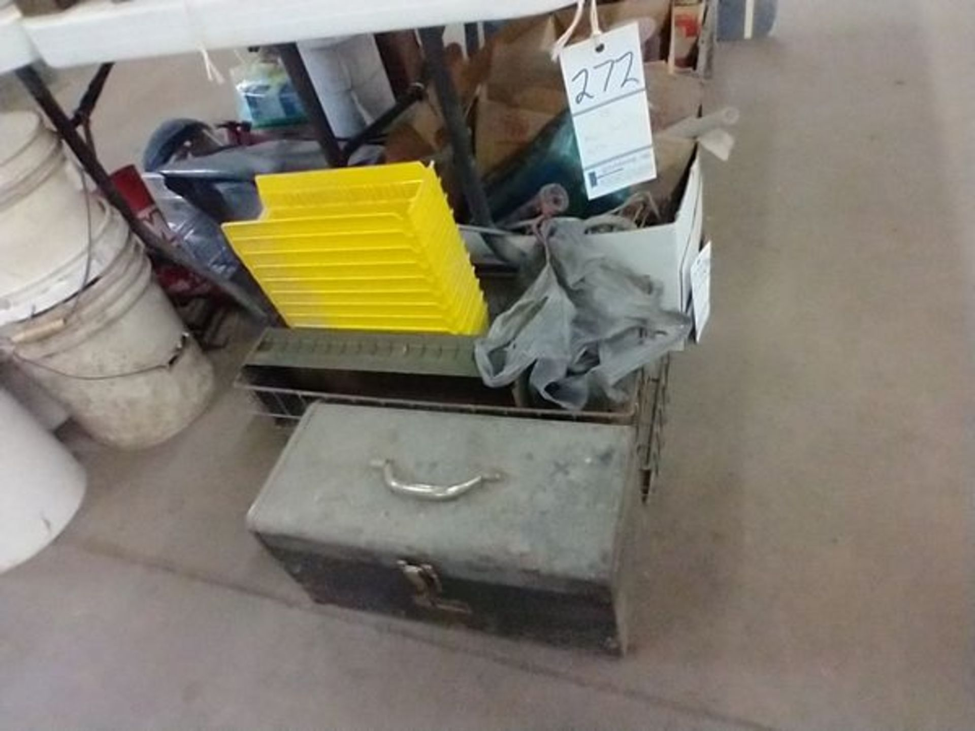 LOT OF MISC UNDER TABLE - Image 2 of 9
