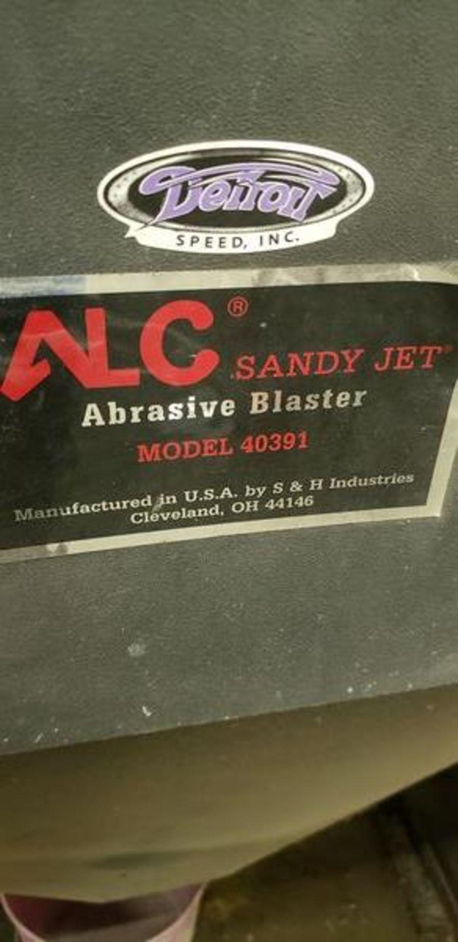 ALC SANDYJET ABRASIVE BLASTER MODEL 40391 - Image 5 of 5