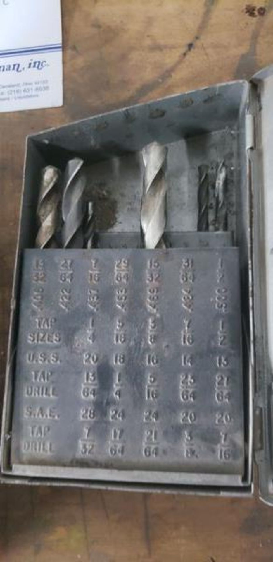 DRILL BITS IN METAL CASES - Image 4 of 4