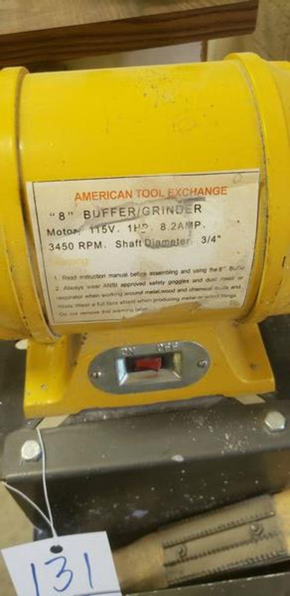 """AMERICAN TOOL EXCHANGE 8"""" BUFFER GRINDER - Image 2 of 3"""