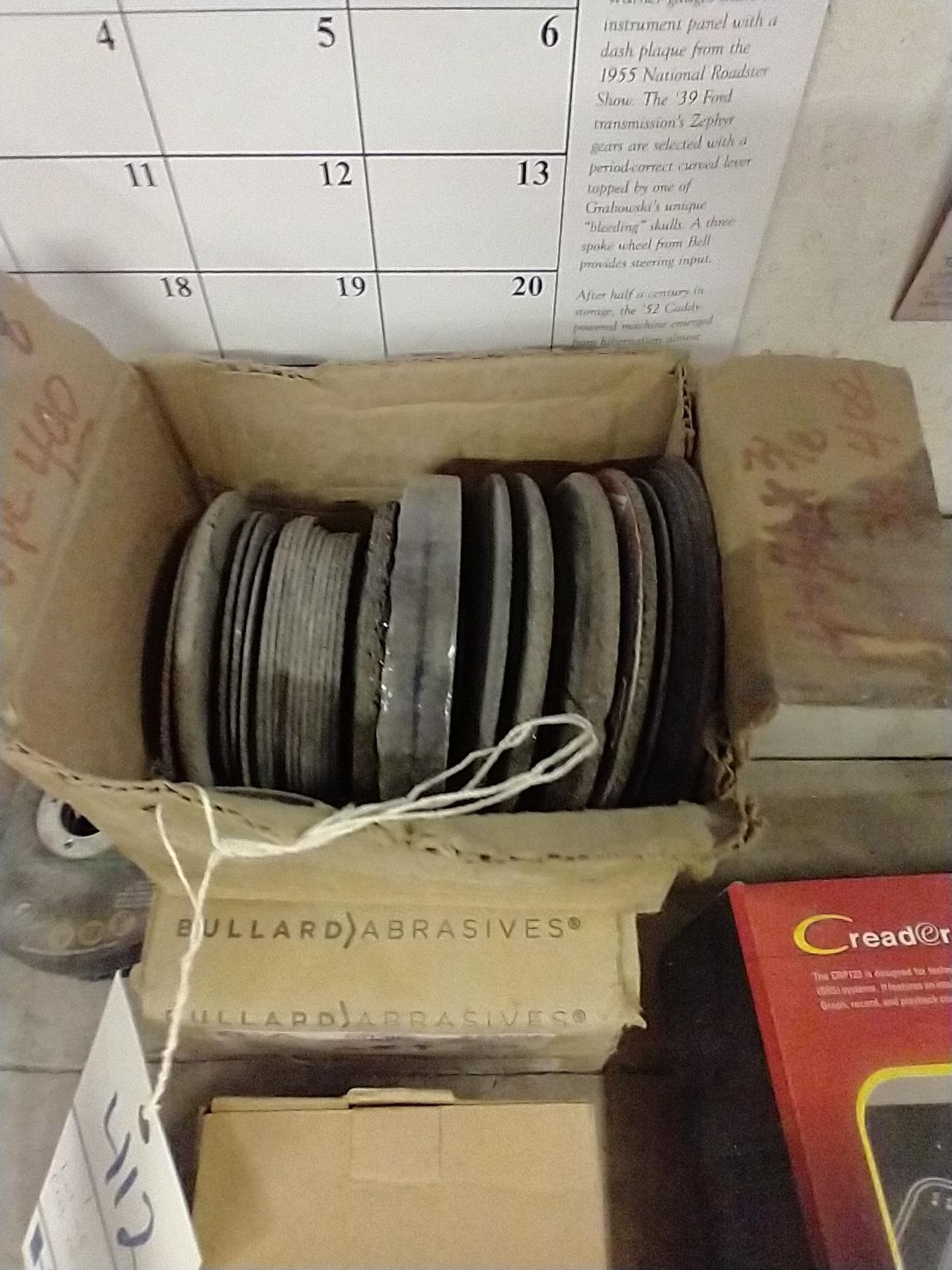 LOT OF ASSORTED CUT OFF WHEELS - Image 2 of 5