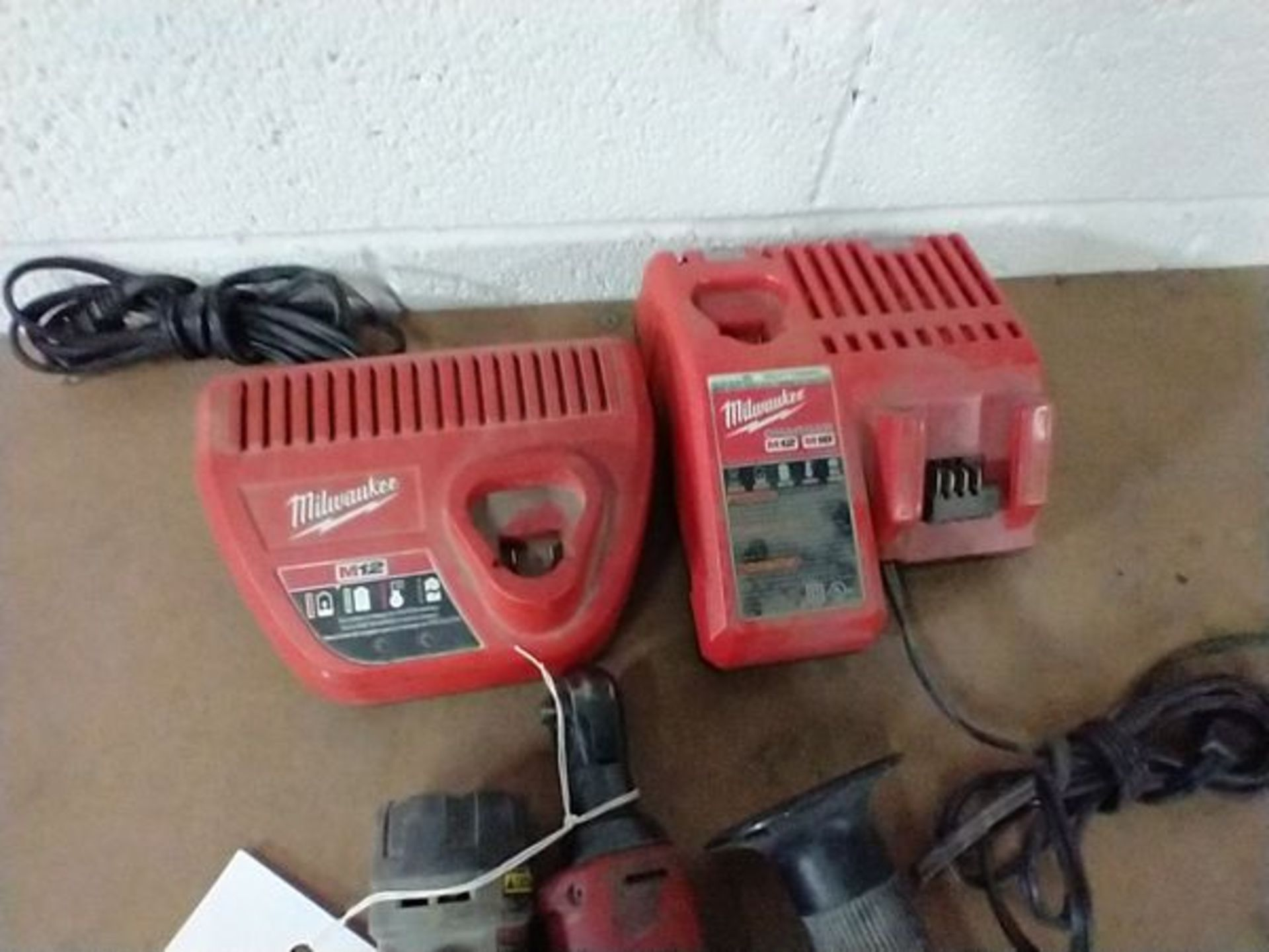 LOT OF MILWAUKEE TOOLS - NO BATTERIES - Image 3 of 3