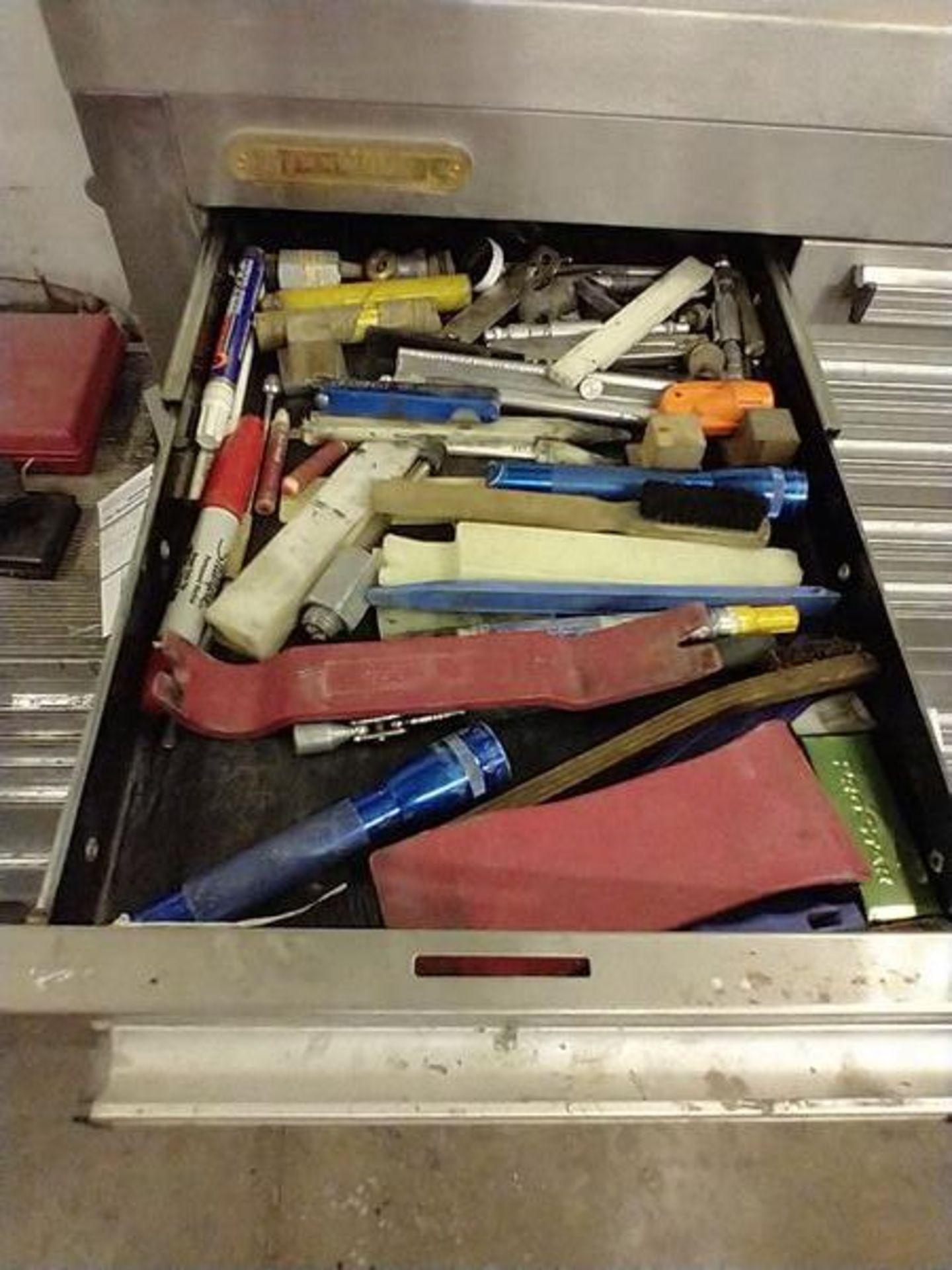 LOT OF MISC IN DRAWER