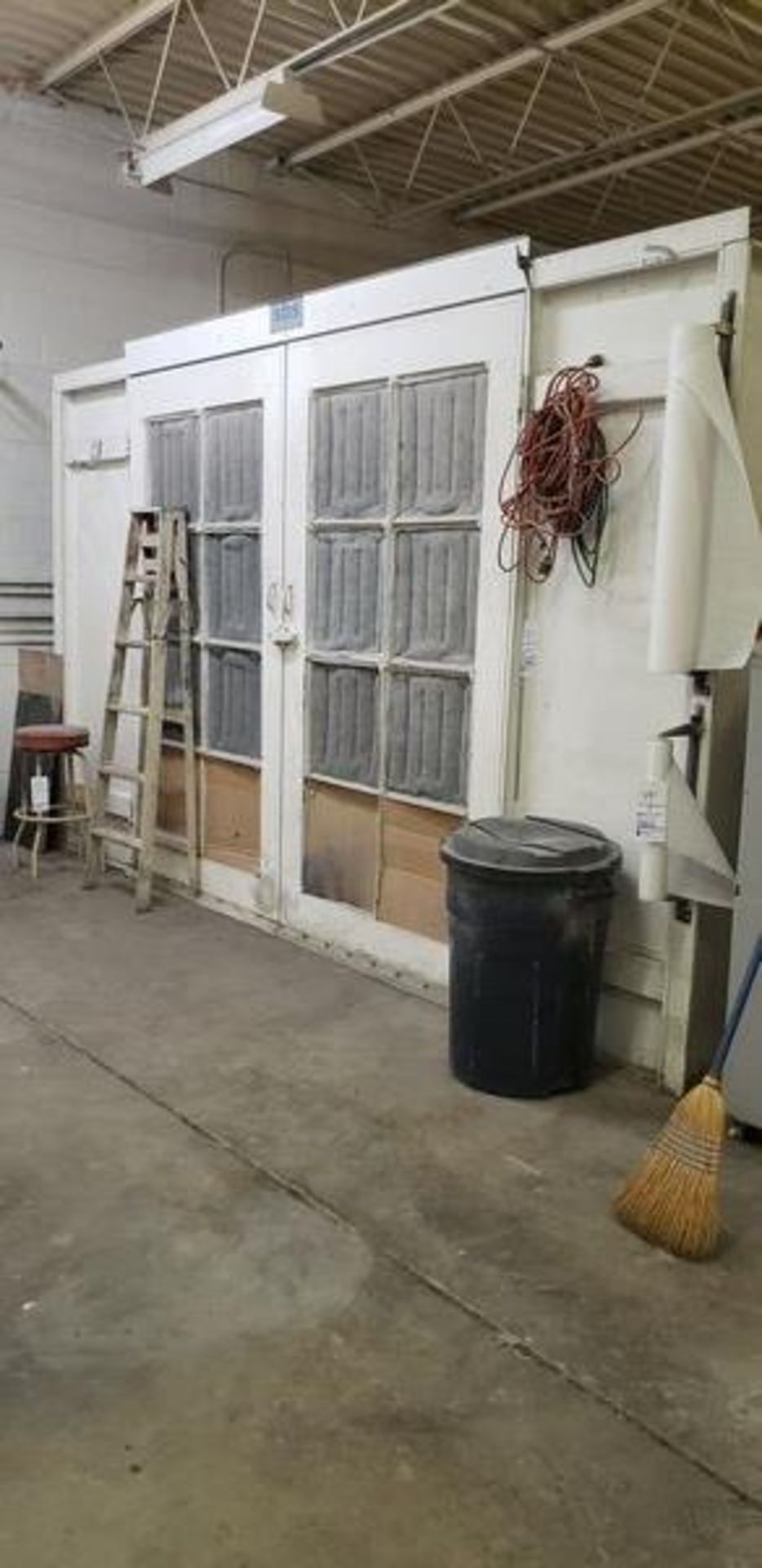 """SBS SPRAYBOOTH SYSTEM WITH LIGHTS AND EXHAUST - 14'2"""" X 24'9"""" X 8'6"""" - BUYER MUST CAP THE ROOF - Image 2 of 10"""