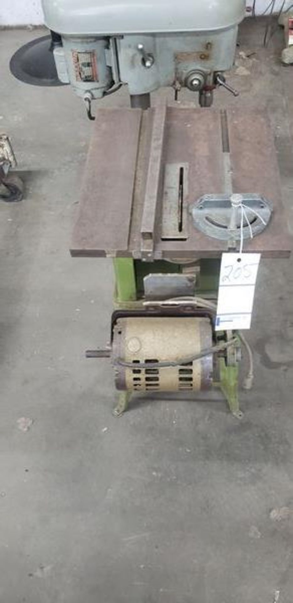 POWER KING TABLE SAW WITH BASE - Image 4 of 5