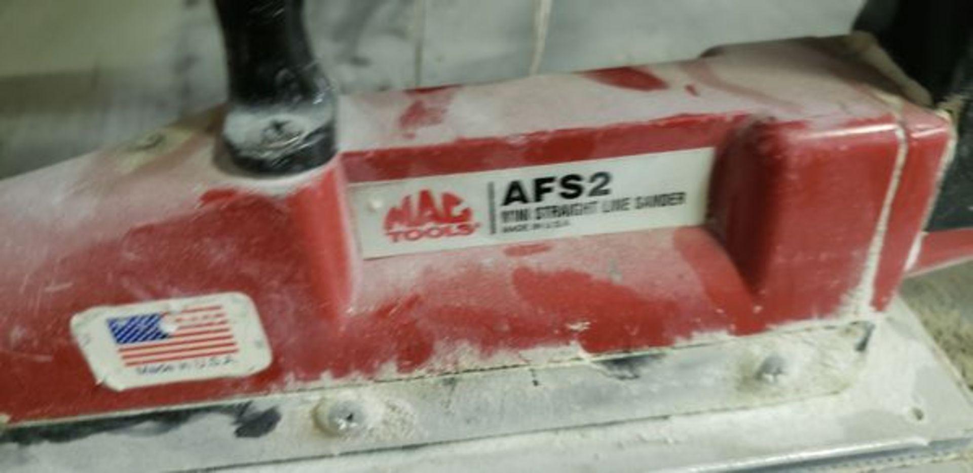 MAC AFS2 MINI STRAIGHT LINE SANDER - Image 2 of 2