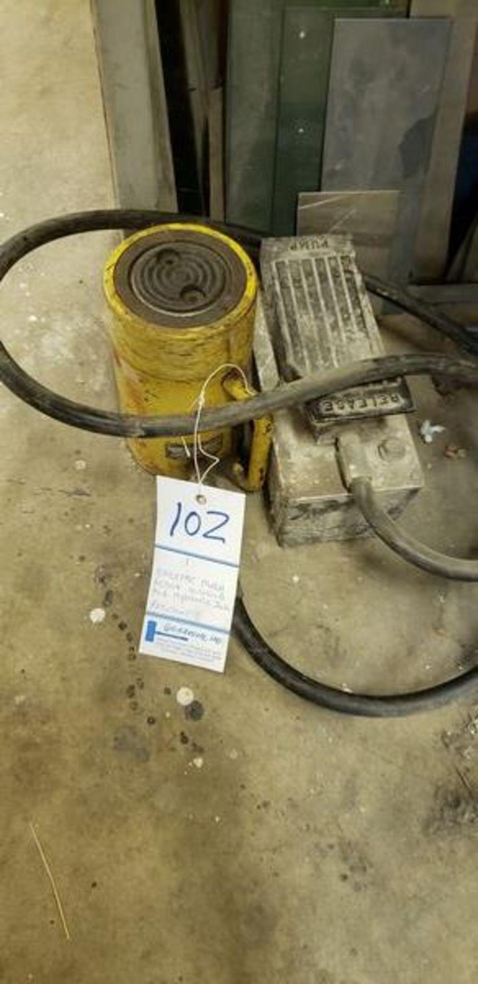 ENERPAC RC504 10,000LB PSI PNEUMATIC HYDRAULIC JACK