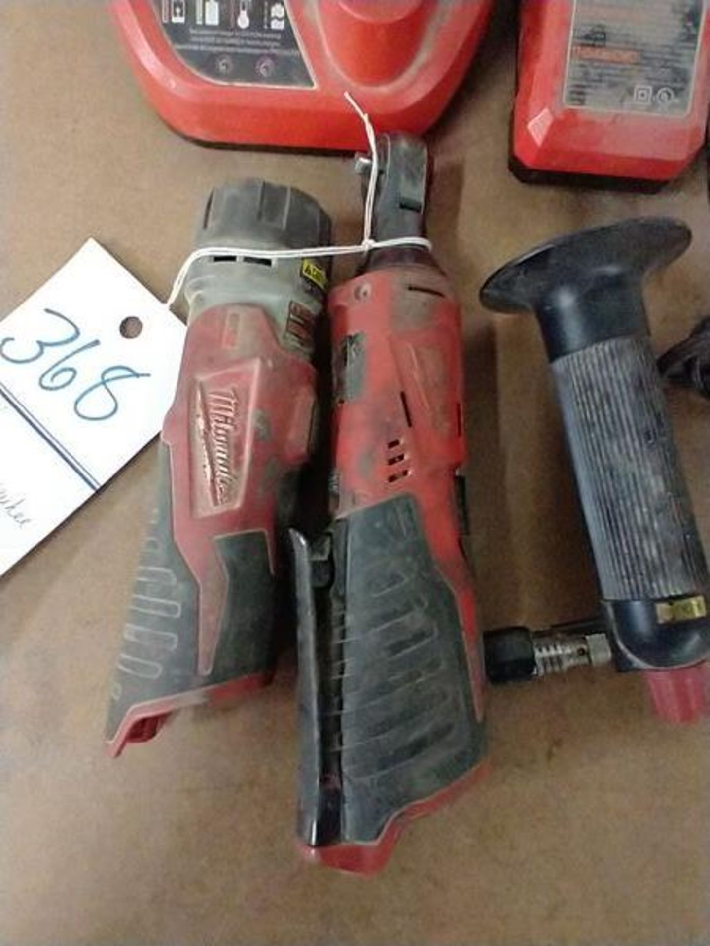 LOT OF MILWAUKEE TOOLS - NO BATTERIES - Image 2 of 3