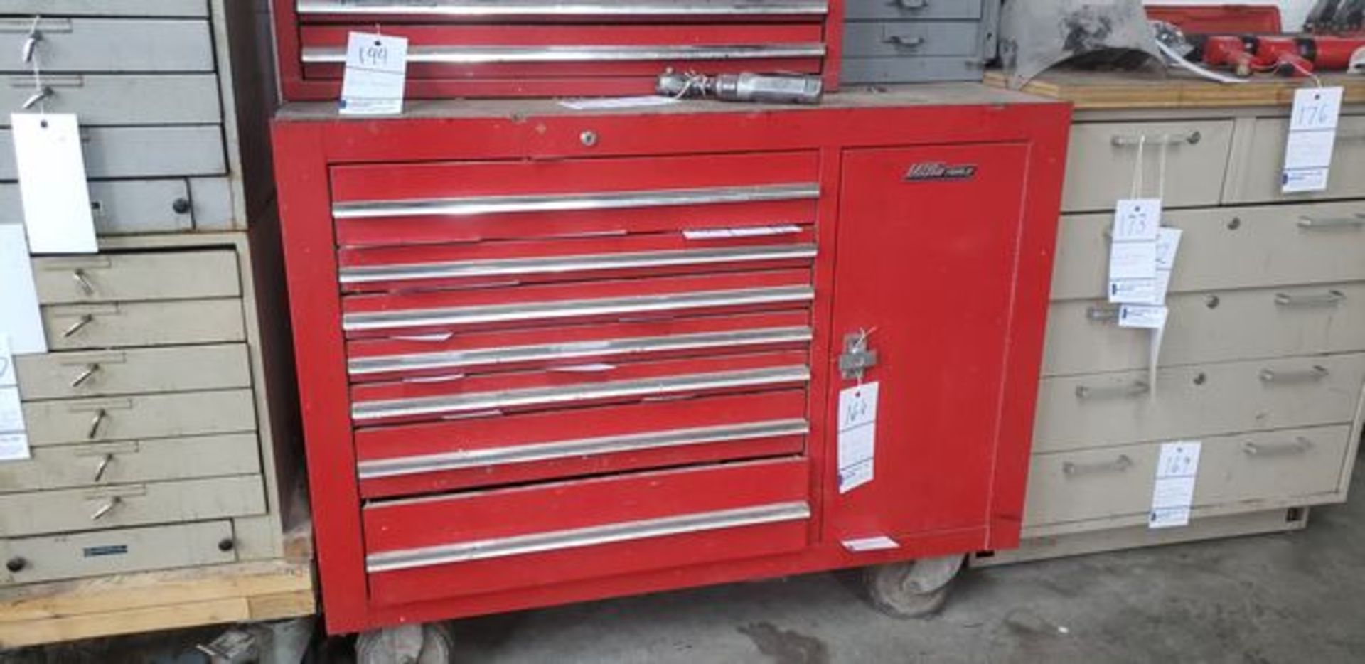 """MAC TOOLS TOOL CHEST ON CASTERS 45"""" X 24"""" X 36"""""""