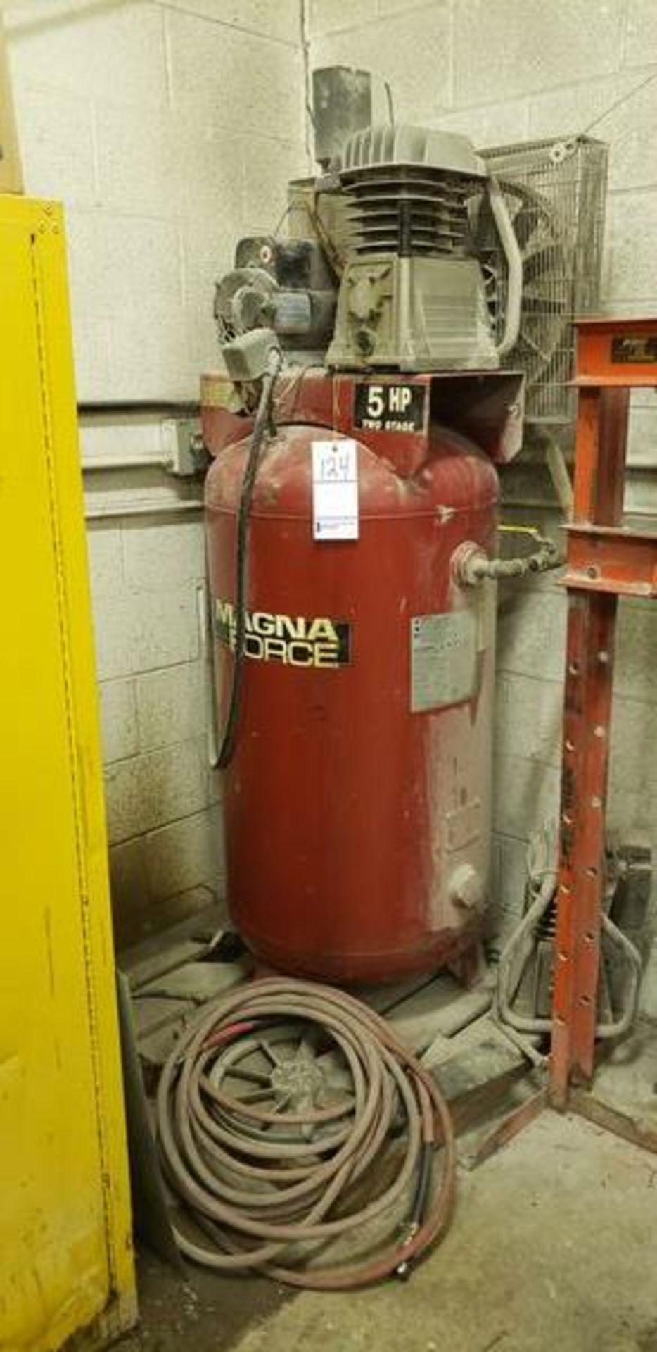 MAGNA FORCE 5HP TWO STAGE AIR COMPRESSOR