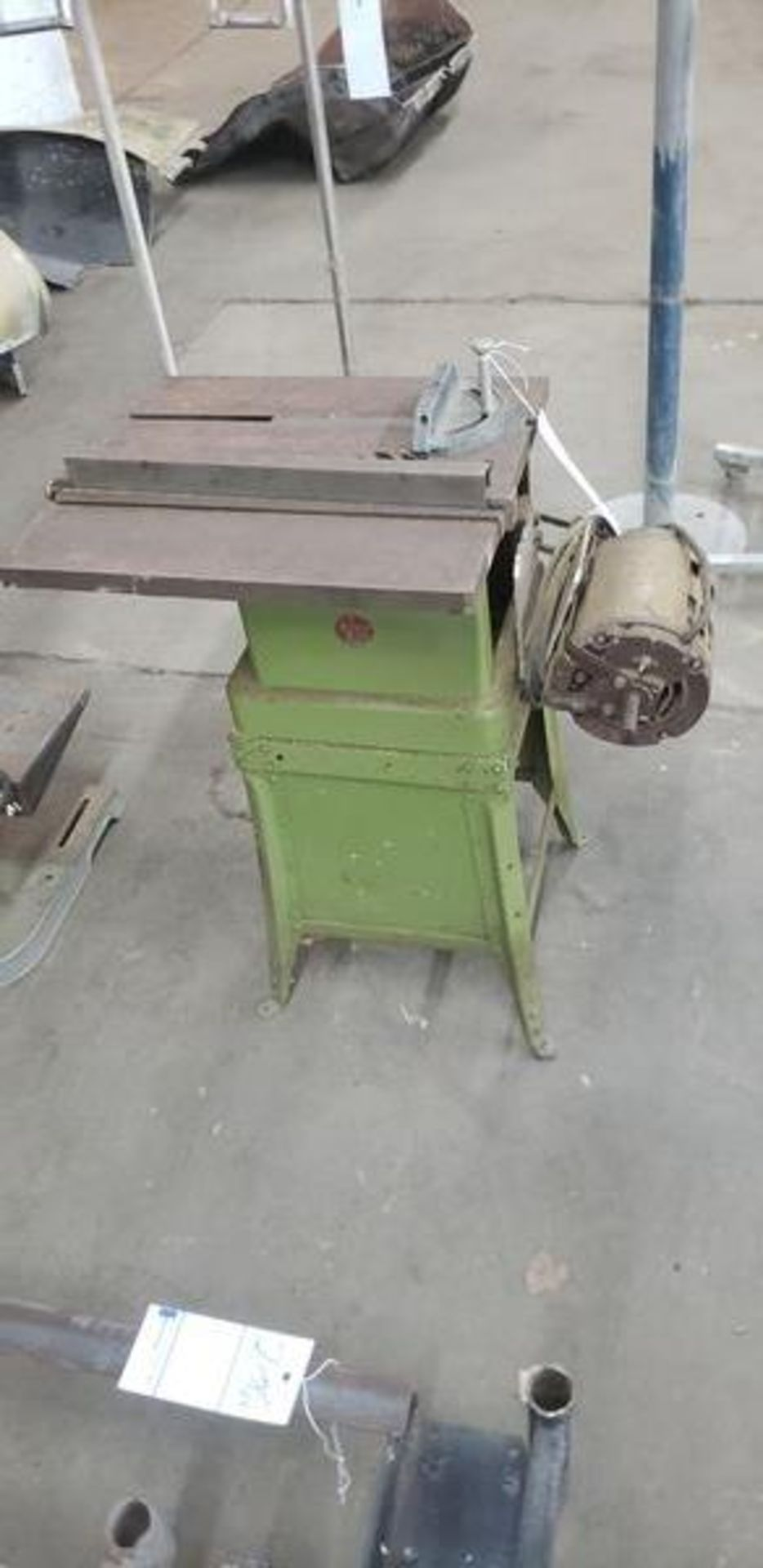 POWER KING TABLE SAW WITH BASE - Image 5 of 5