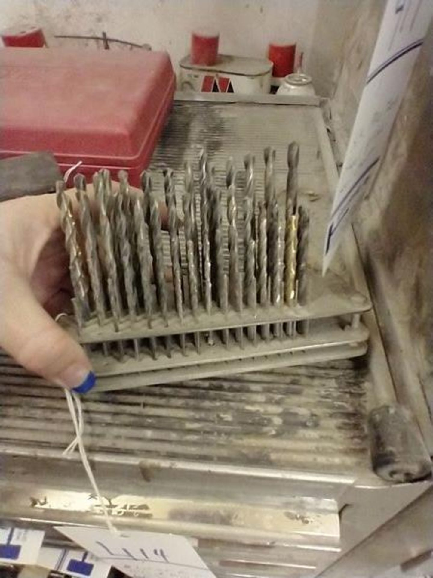 LOT OF DRILL BITS, DRILL KEYS AND MISC - Image 7 of 7