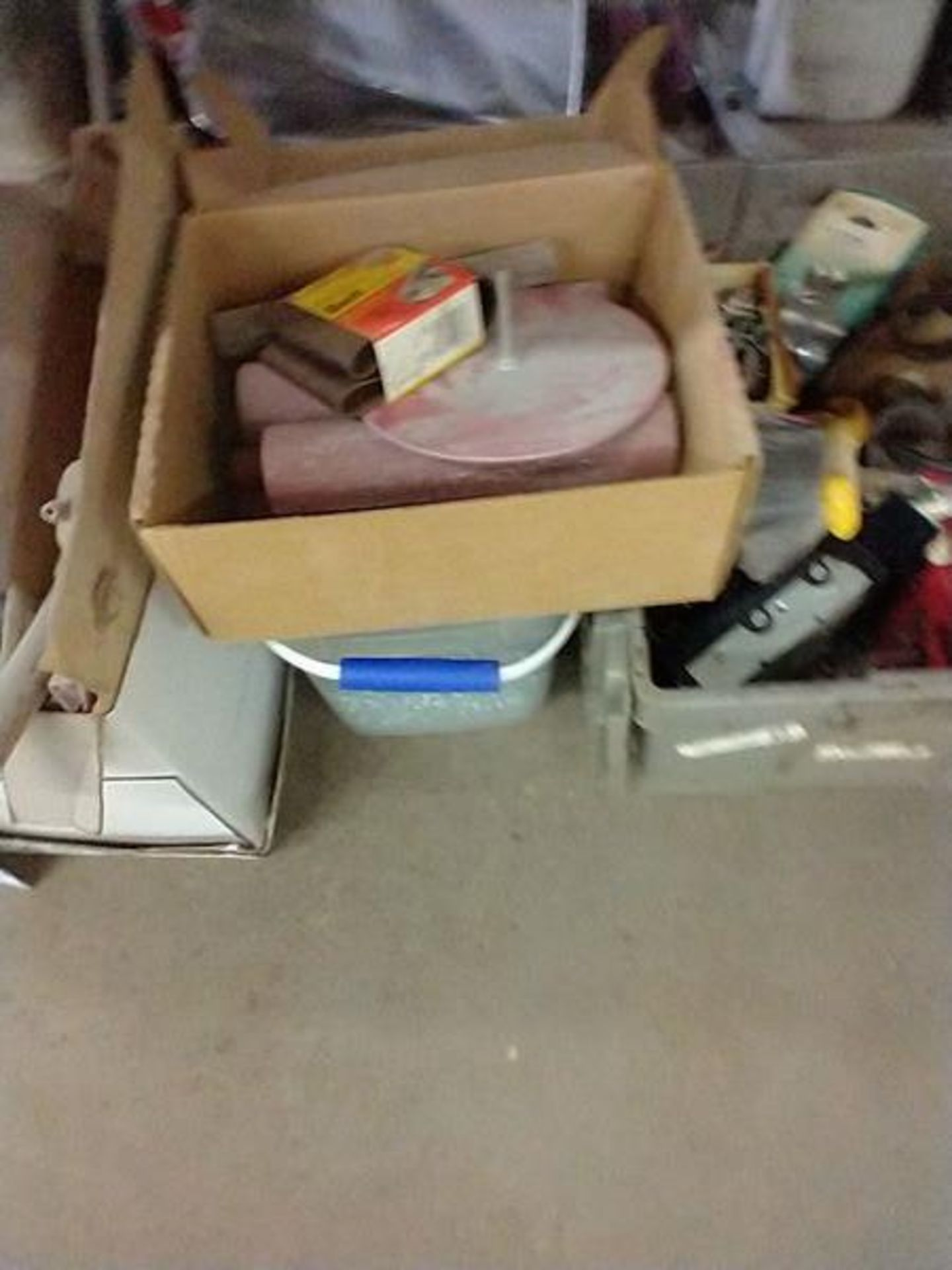 LOT OF MISC UNDER TABLE - Image 5 of 9