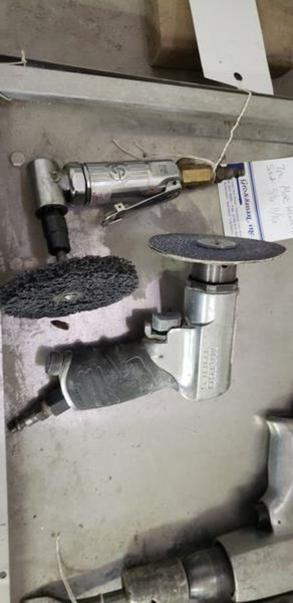 PMEUMATIC GRINDERS - MATCO AND CHICAGO