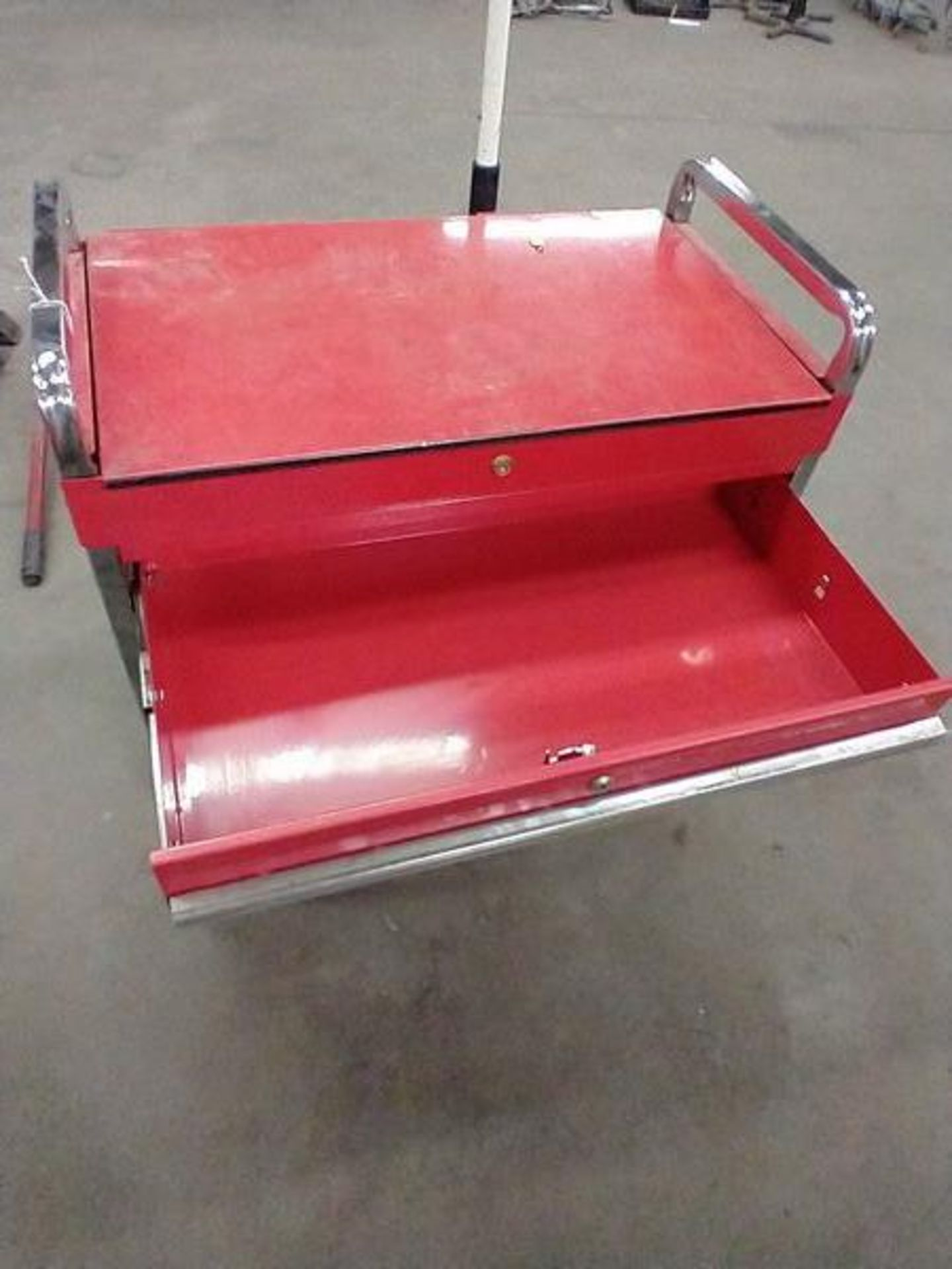 TOOL CART WITH KEY - Image 3 of 3