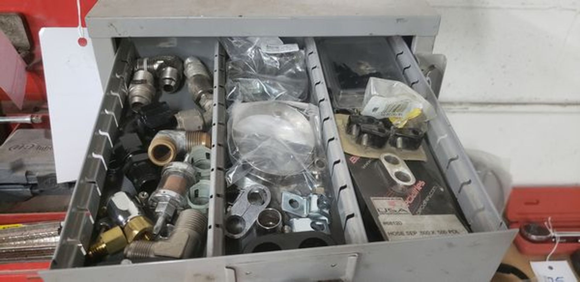 METAL 9 DRAWER CABINET WITH CONTENTS OF AUTO PARTS AND MISC - Image 10 of 10