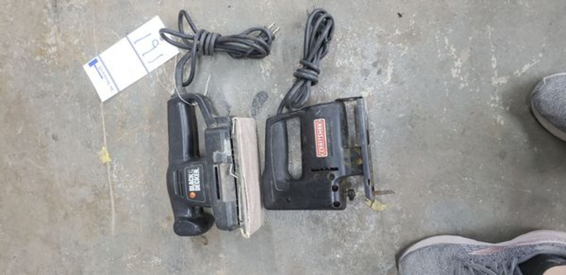 ELECTRIC SANDER AND JIG SAW