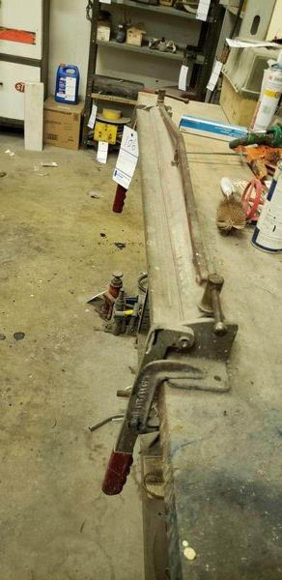 """38"""" TOOL BENCH BRAKE - Image 2 of 2"""